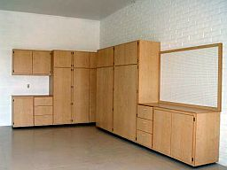 Large Corner Unit Garage Cabinets Combination ...